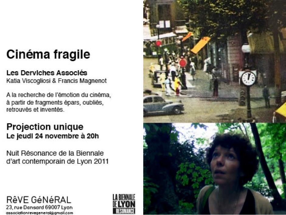 Cinéma Fragile 2011_Invitation